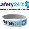 safety24.co.uk Unique ID Medical Wristband